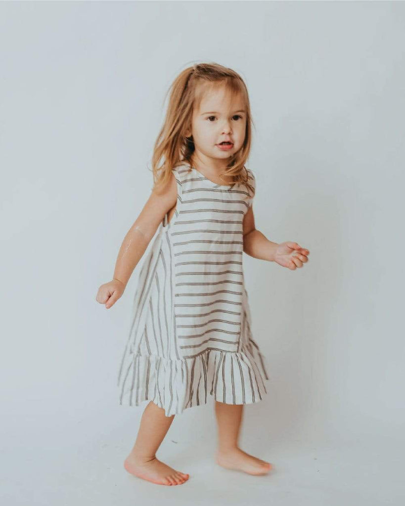 The Anna Stripe Dress - KIDS