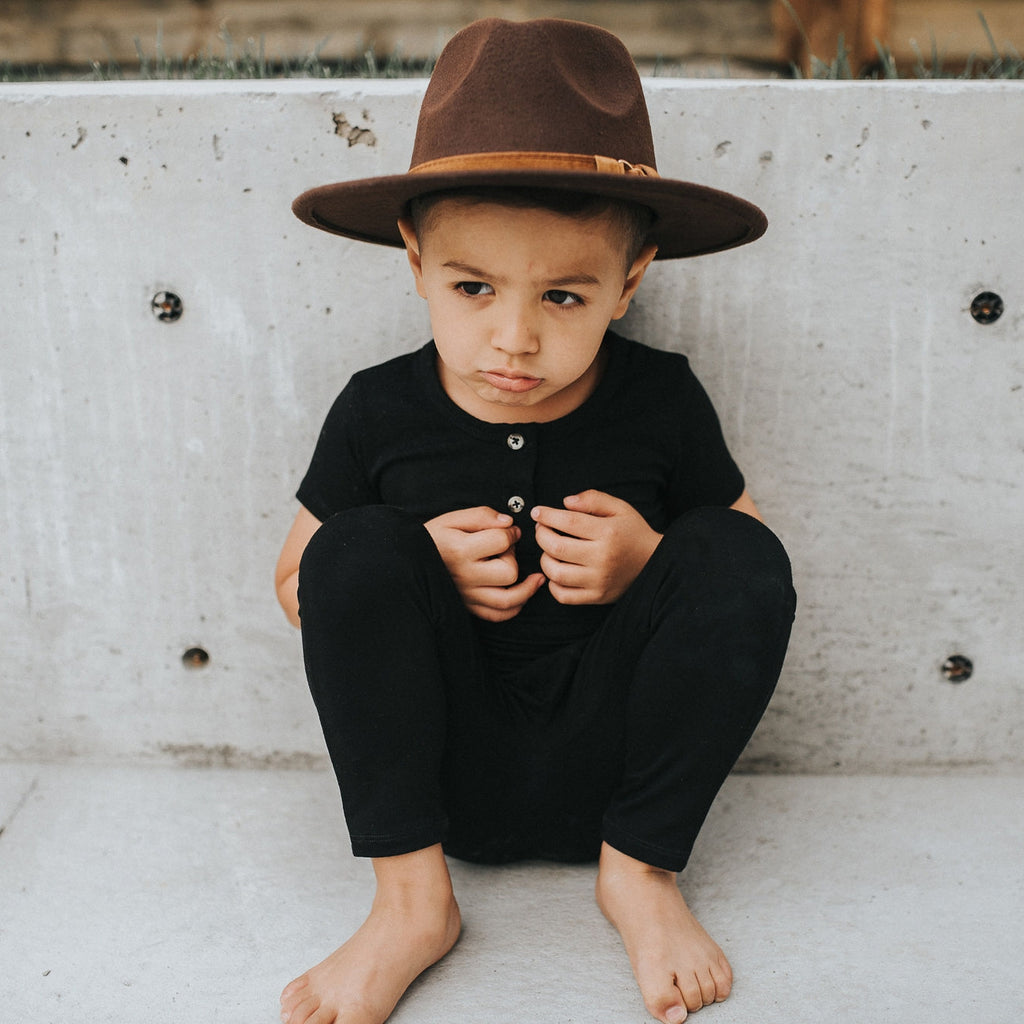 The Kids Rancher Hat - Dark Brown