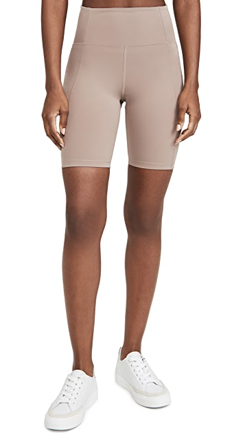 The Girlfriend Collective Bike Short - Limestone-PLUS