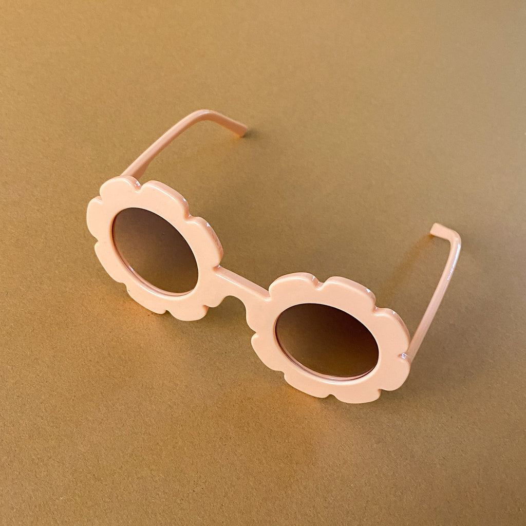 The Kids Flower Power Sunglasses - Various Colours