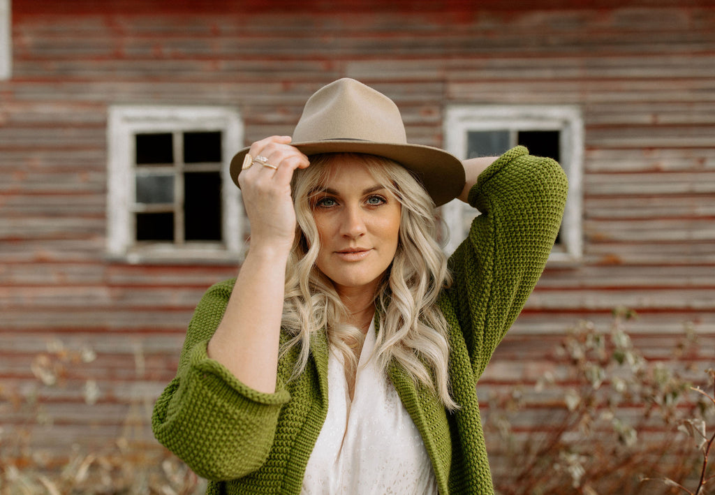 The Erinn Boyfriend Cardigan - Olive