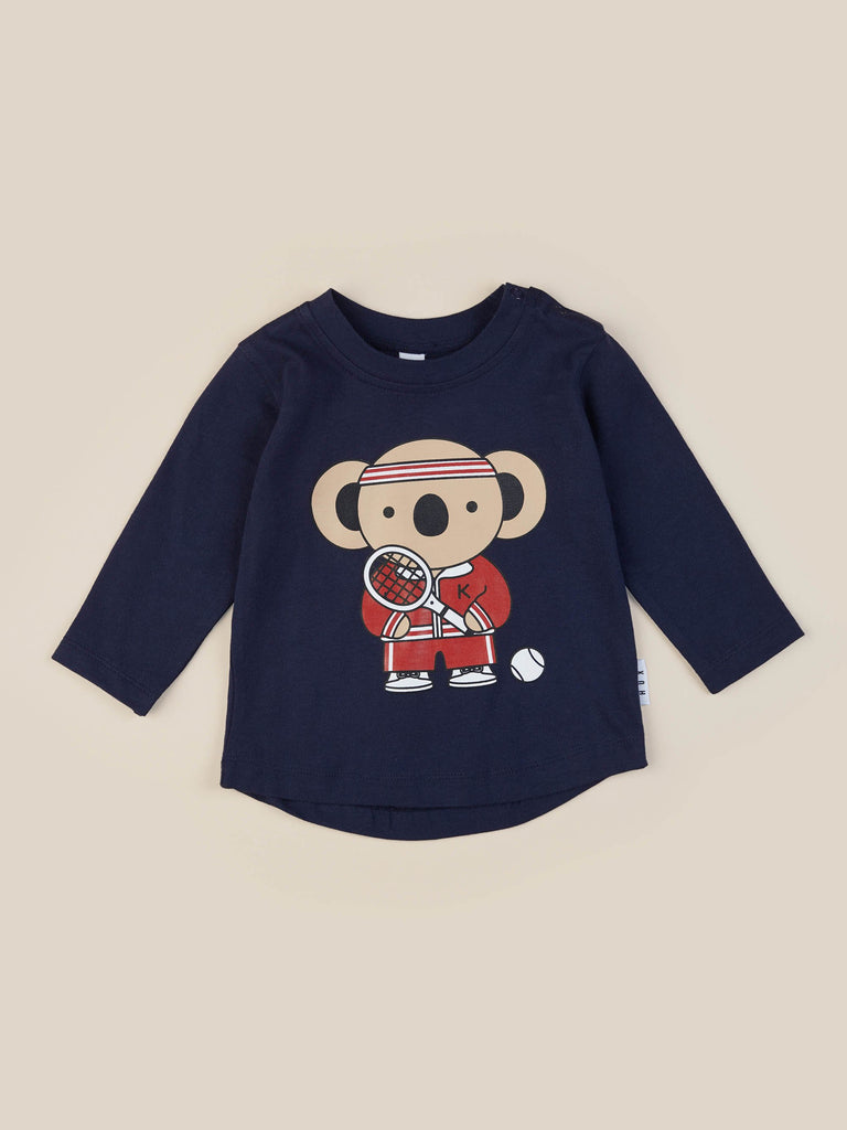 The Tennis Koala Top By HUX Baby