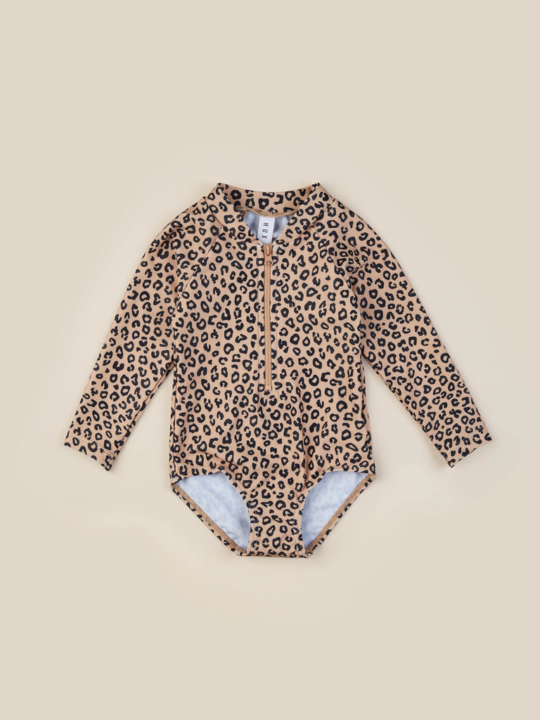 The Animal Long Sleeve Zip Swimsuit