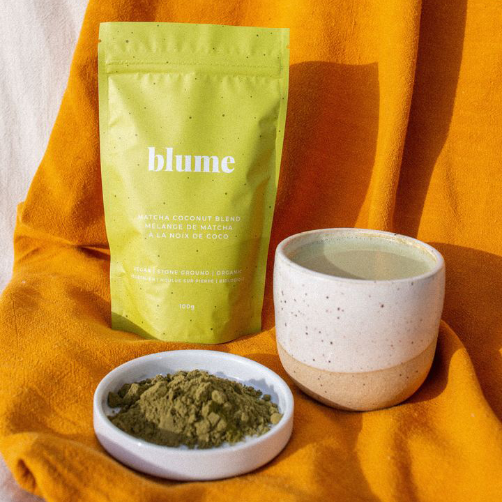 The Matcha Coconut Blend - By Blume