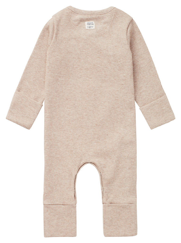 The Nessy Playsuit - Sand Melange