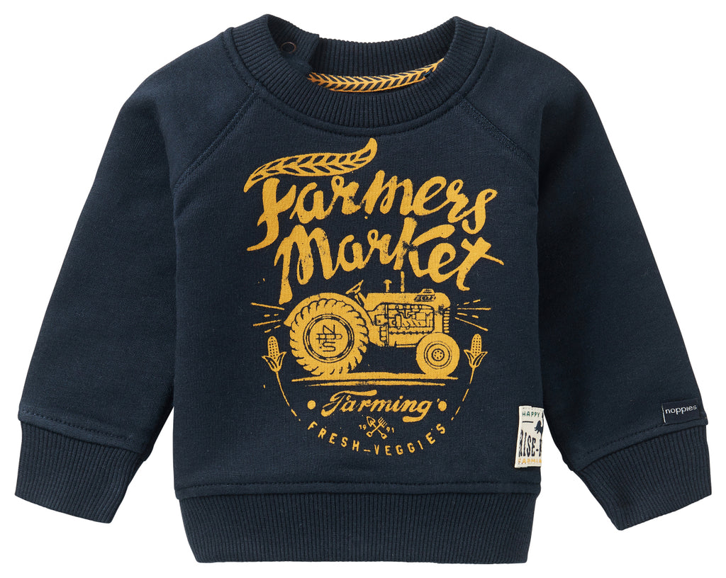 The Kei Road Sweater - Navy