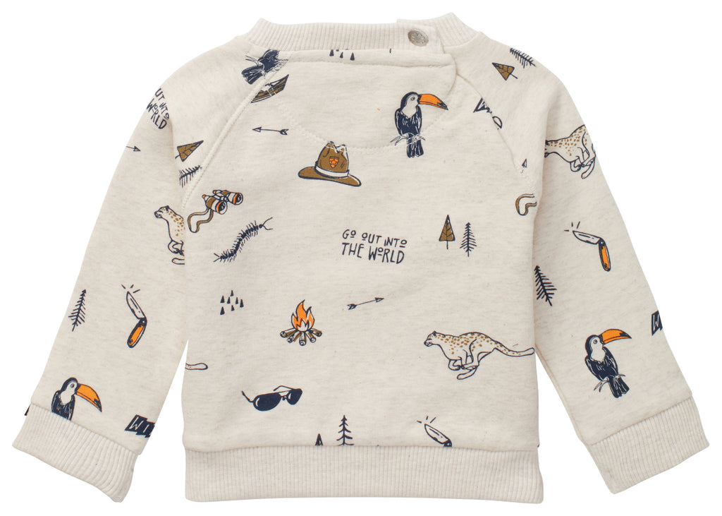 The Tilbrook Wildlife Sweater