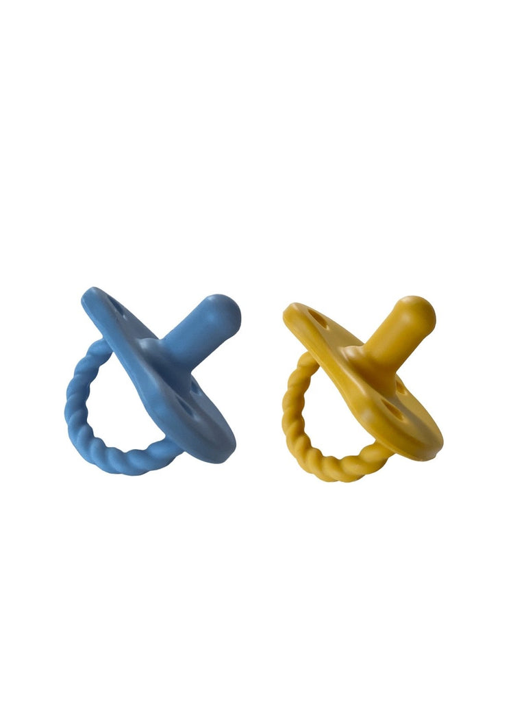 The 2 Pack Twirl Pacifiers - Various Colours