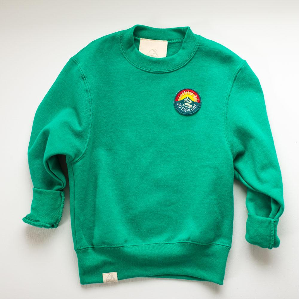 The Go Explore Sweatshirt - KIDS