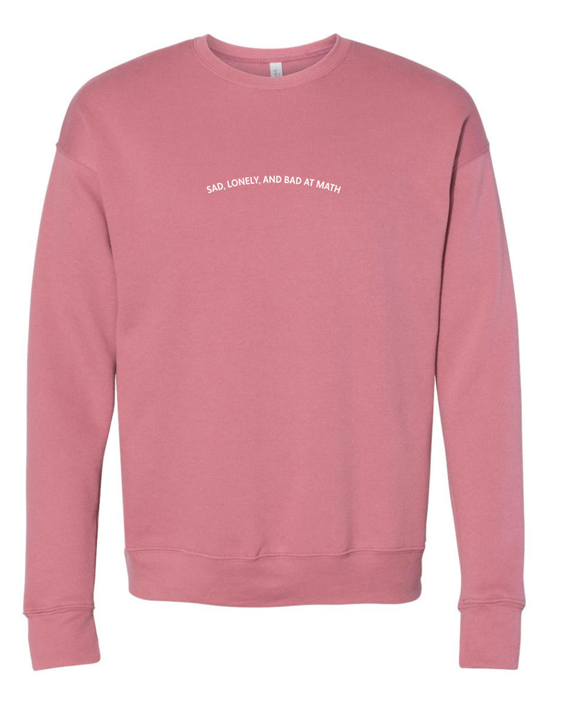 The Bad At Math Sweatshirt