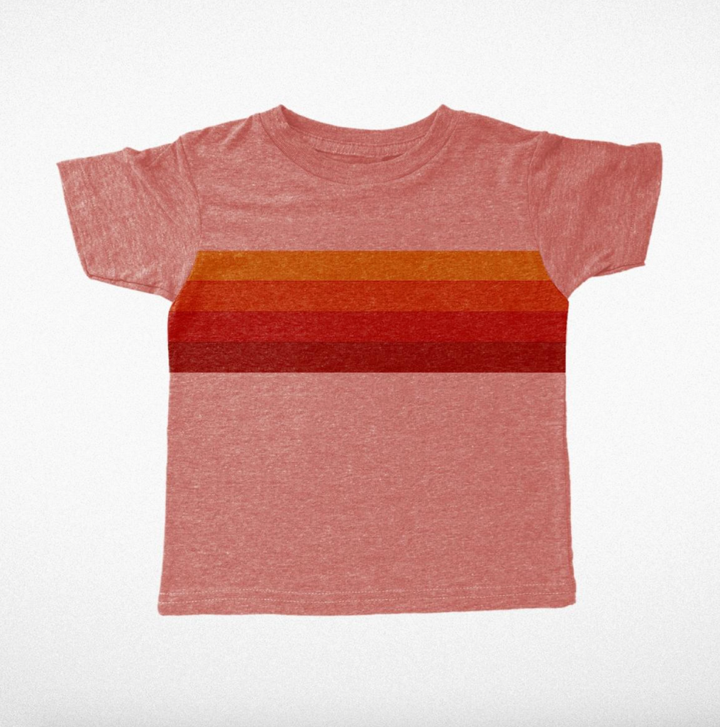 The 1976 Crop T-Shirt - Tri Red