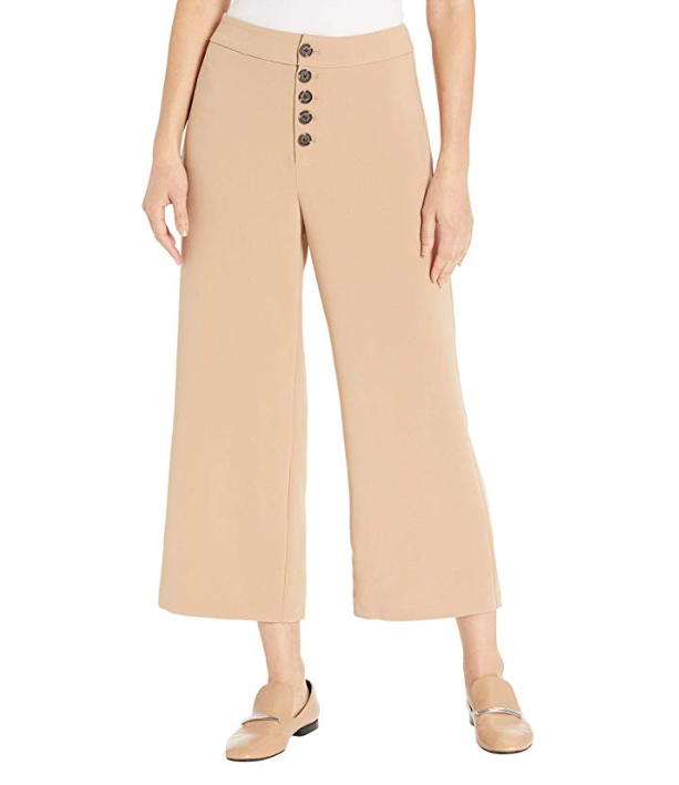 The Riga Cropped Pant - Caramel