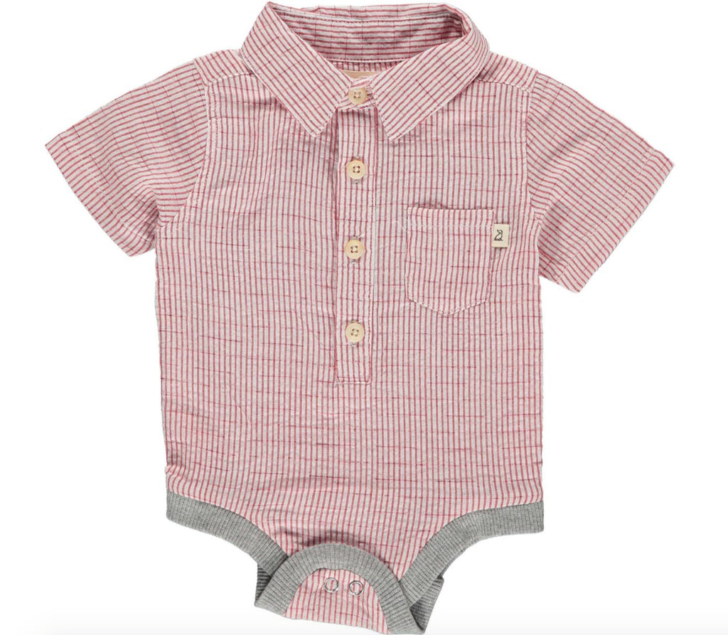 The Ralph Onesie - Red Stripe