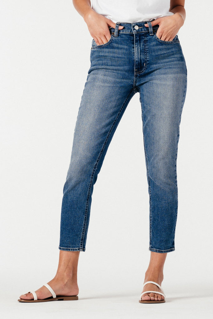 The Soho Crop Denim - Cali Blue