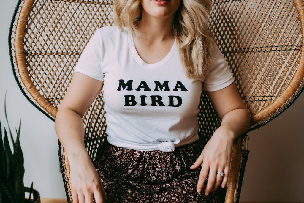 The Mama Bird T-Shirt - PLUS
