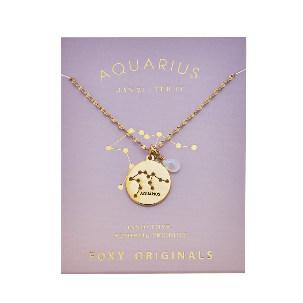 The Zodiac Necklace - Various Styles + Colours