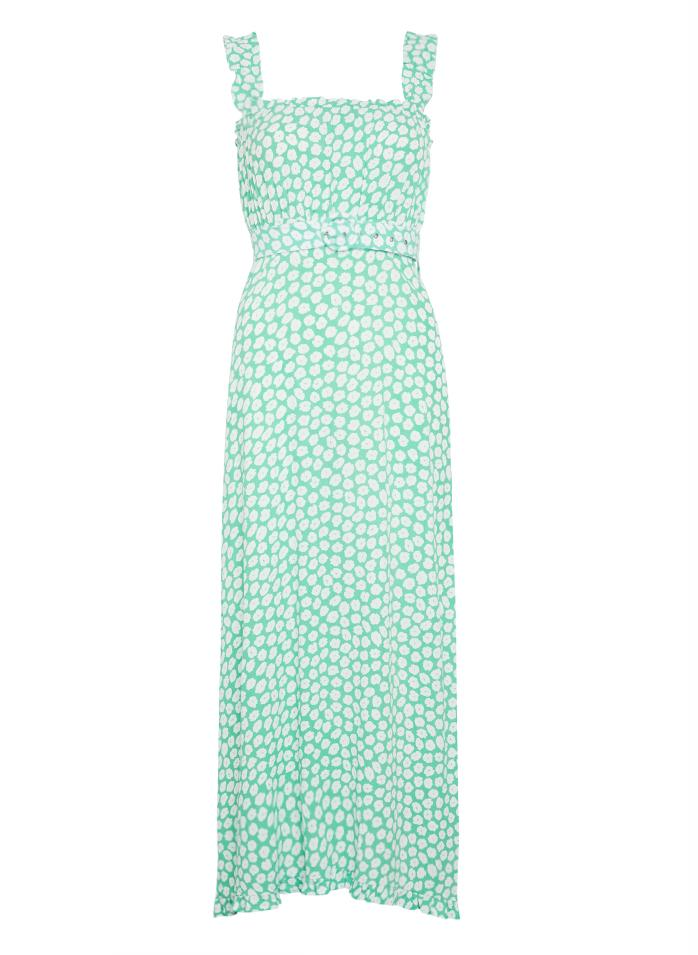 The Saint Tropez Midi Dress by Faithfull - Cora Floral - PLUS