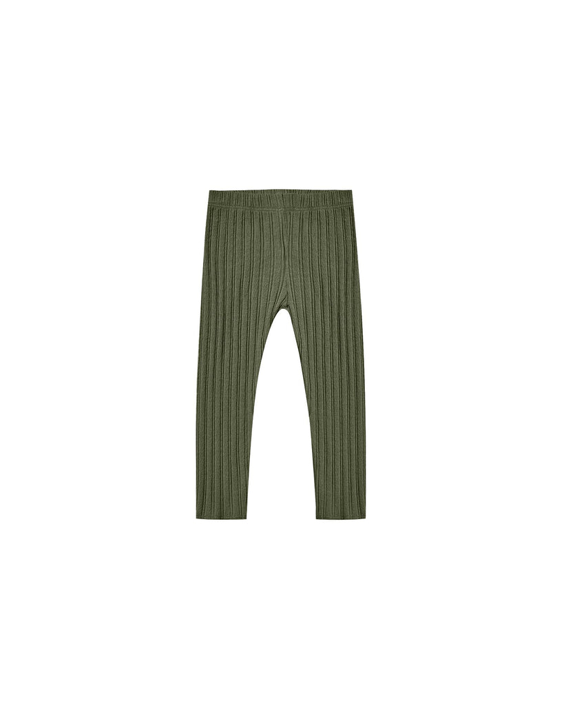 The Ribbed Legging Rylee & Cru - KIDS - Forest