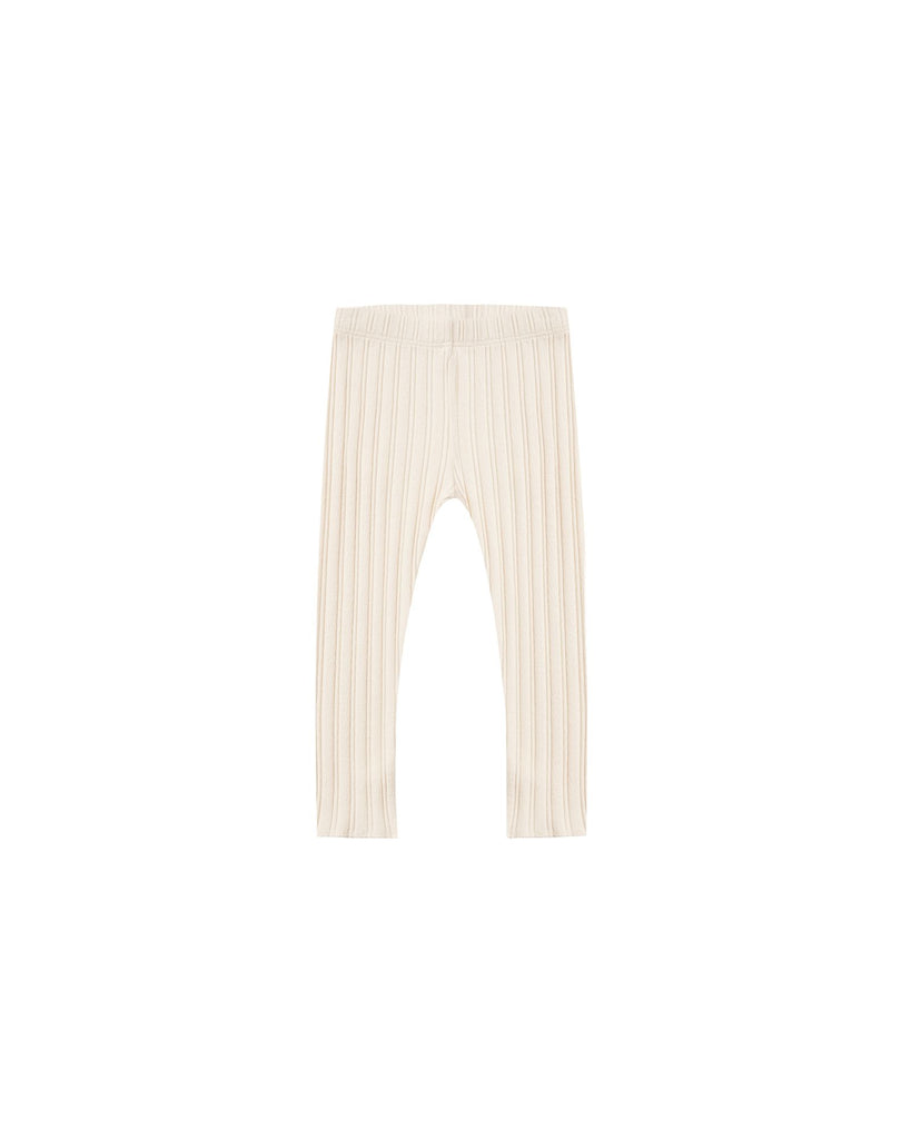 The Ribbed Legging Rylee & Cru - KIDS - Natural