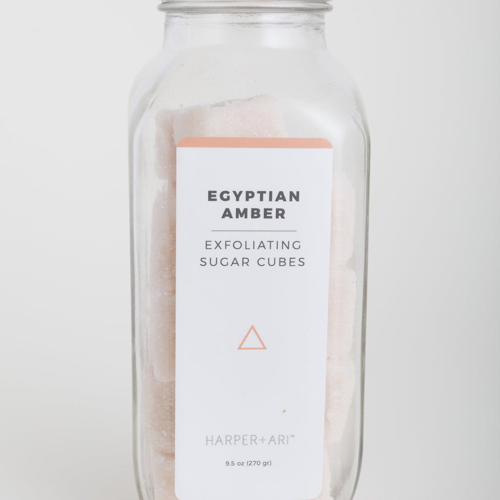 The Exfoliating Sugar Cubes - Egyptian Amber