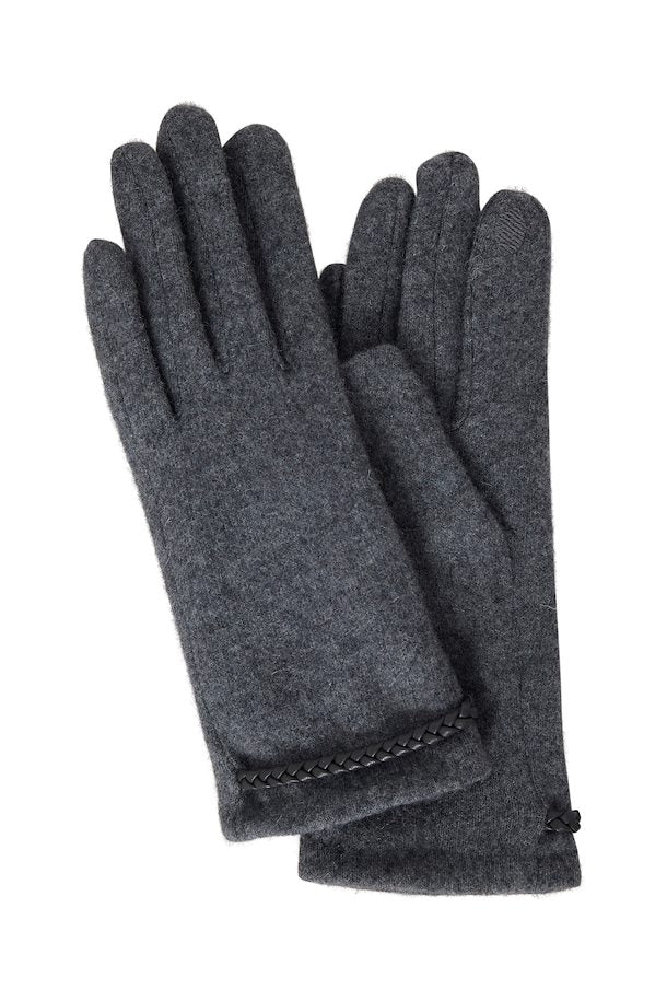 The Bradi Gloves - Charcoal