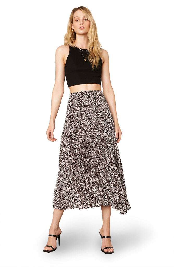 The Wild Out Pleated Skirt