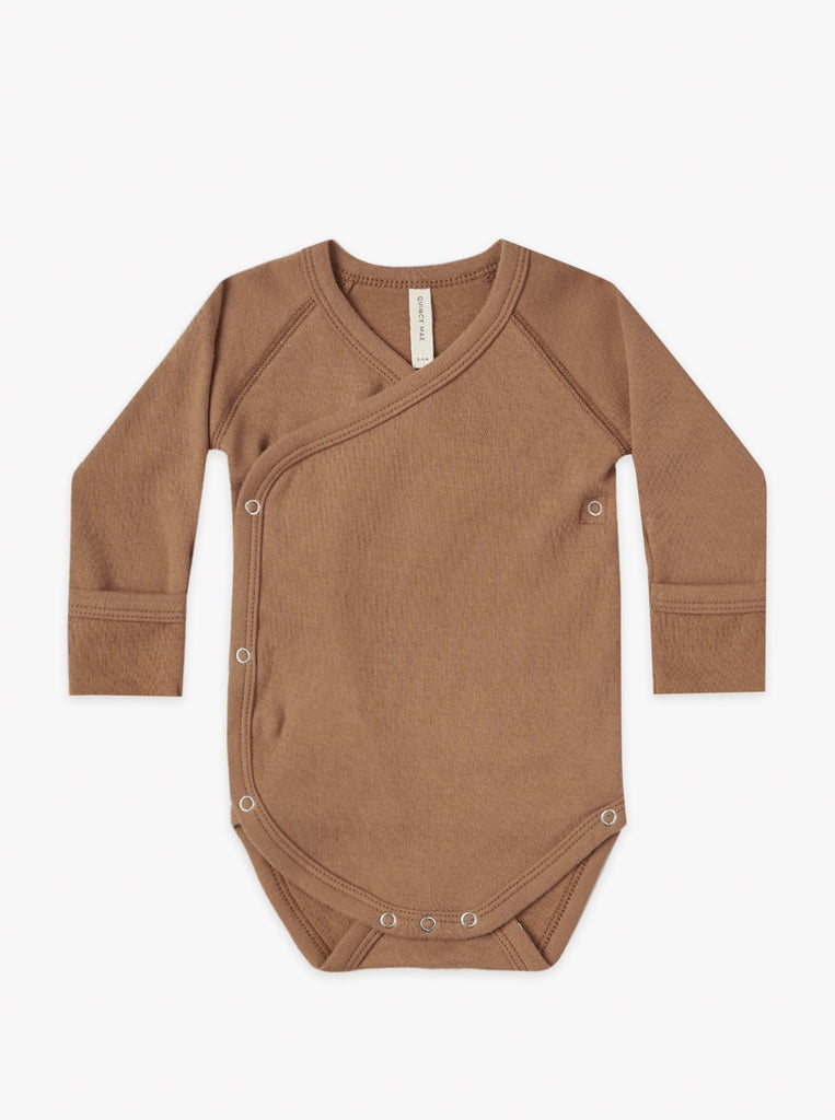 The Wrap Onesie - Rust