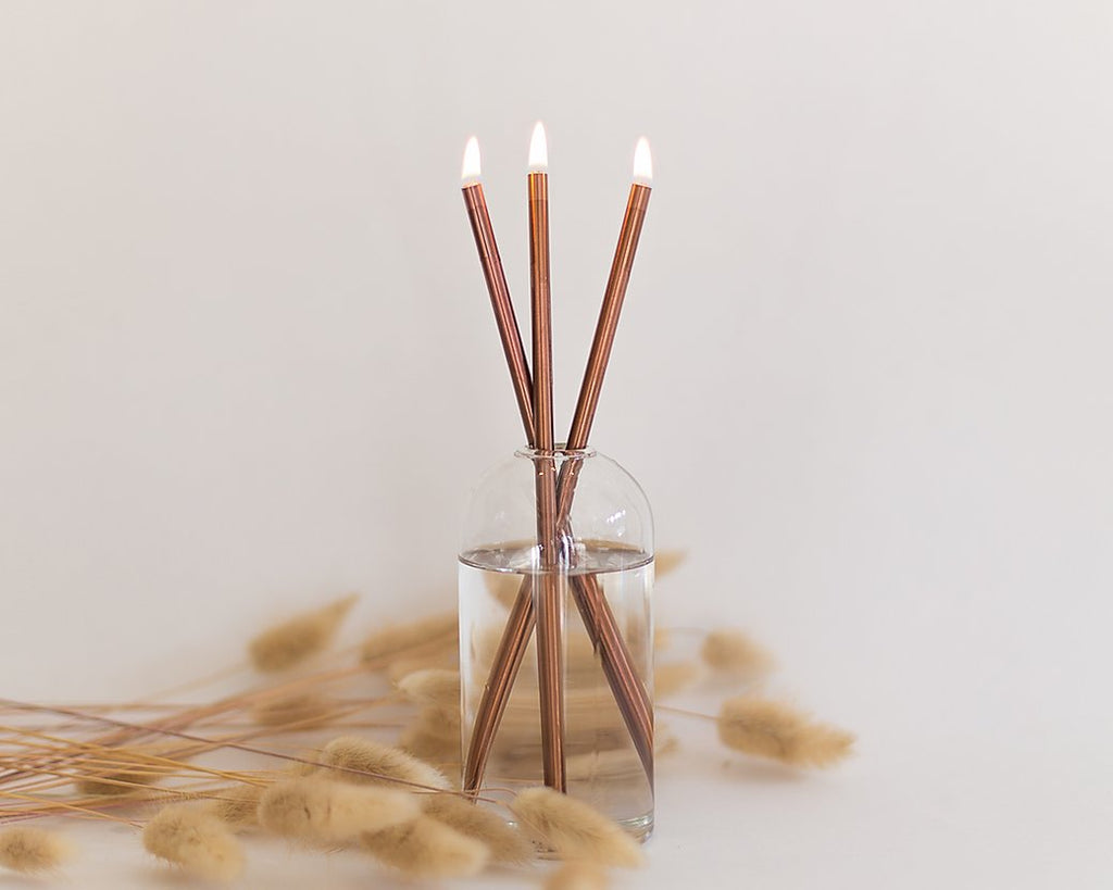 The Everlasting Candle Set - Copper