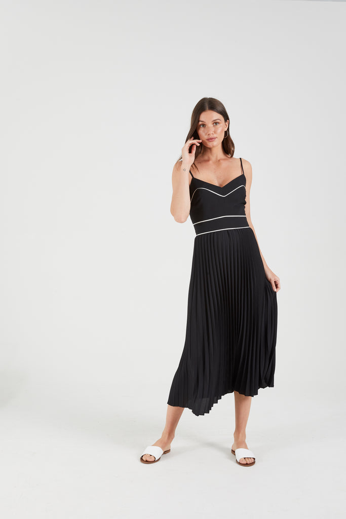 The Zuri Pleated Dress by Cooper Street