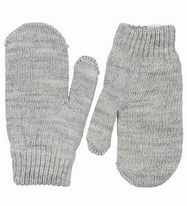 The Knit Mittens - Grey