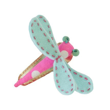 The Dragonfly Hair Clip - Various Colours