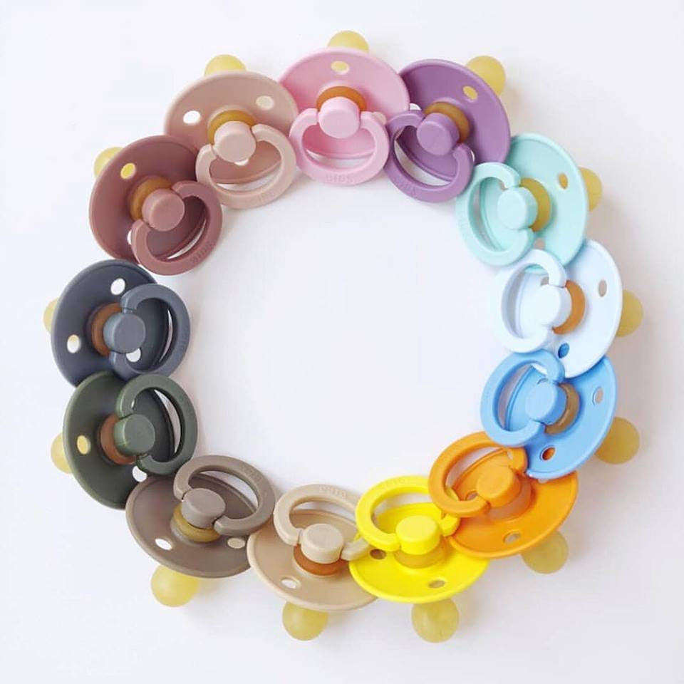 The Bibs Pacifier 2 Pack - Various Colours