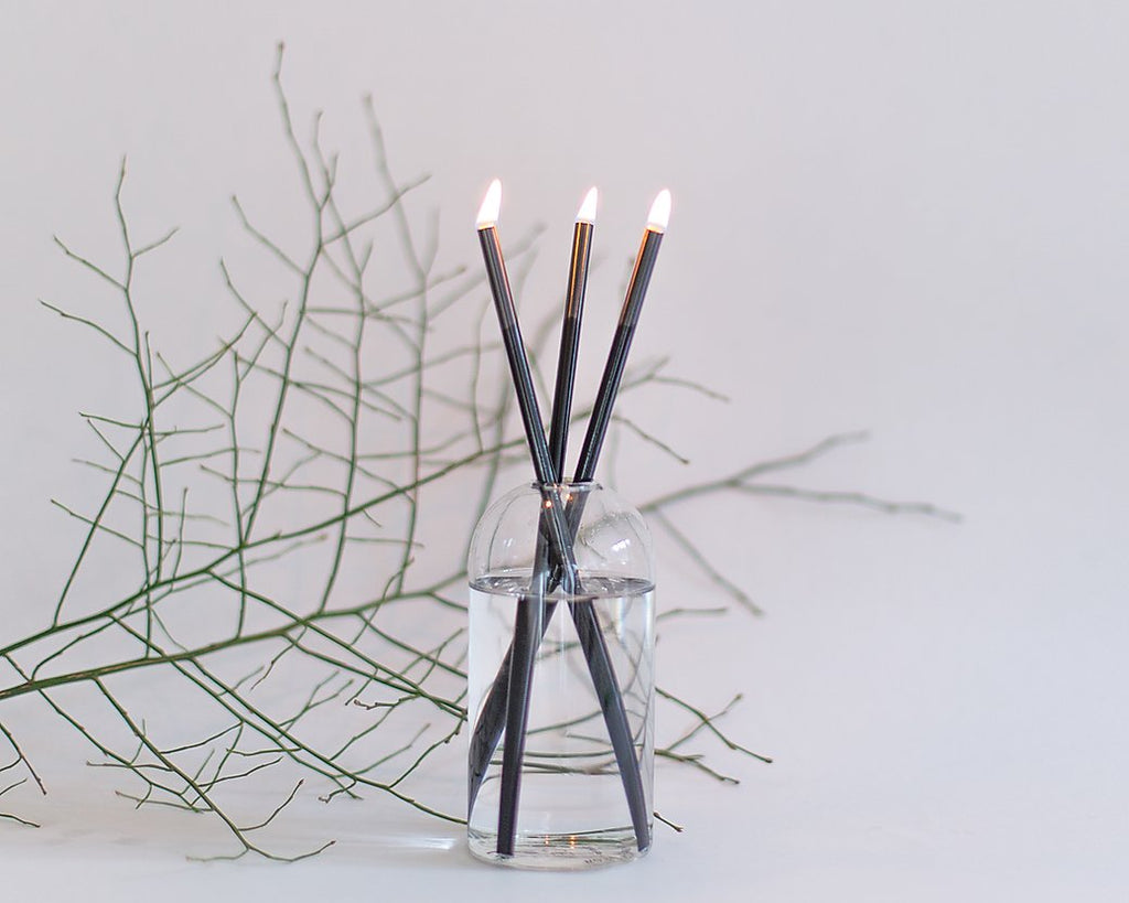The Everlasting Candle SET - Black