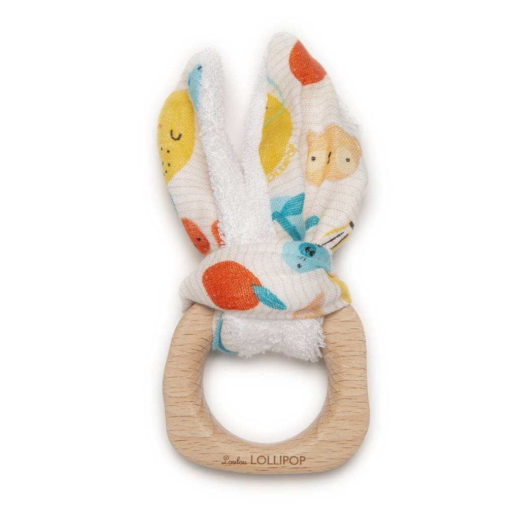 The Bunny Ear Teether -  Cutie Fruits