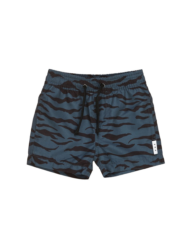 The Tiger Stripe Swim Short