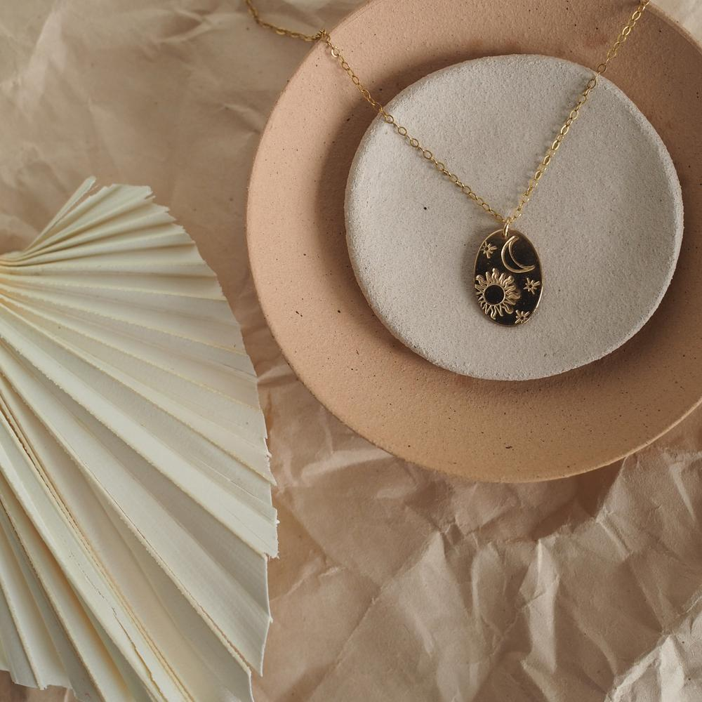 The Celeste Signet Necklace