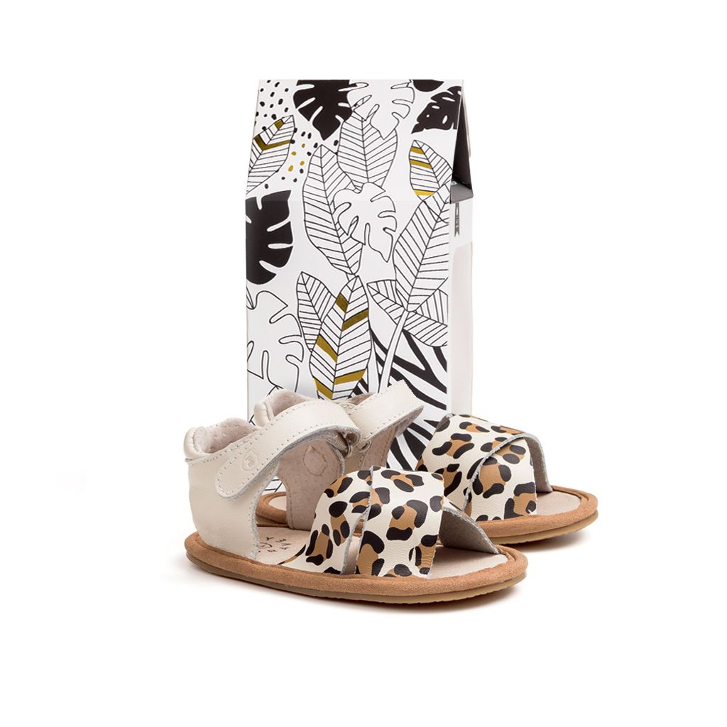 The Valencia Cheetah Sandal
