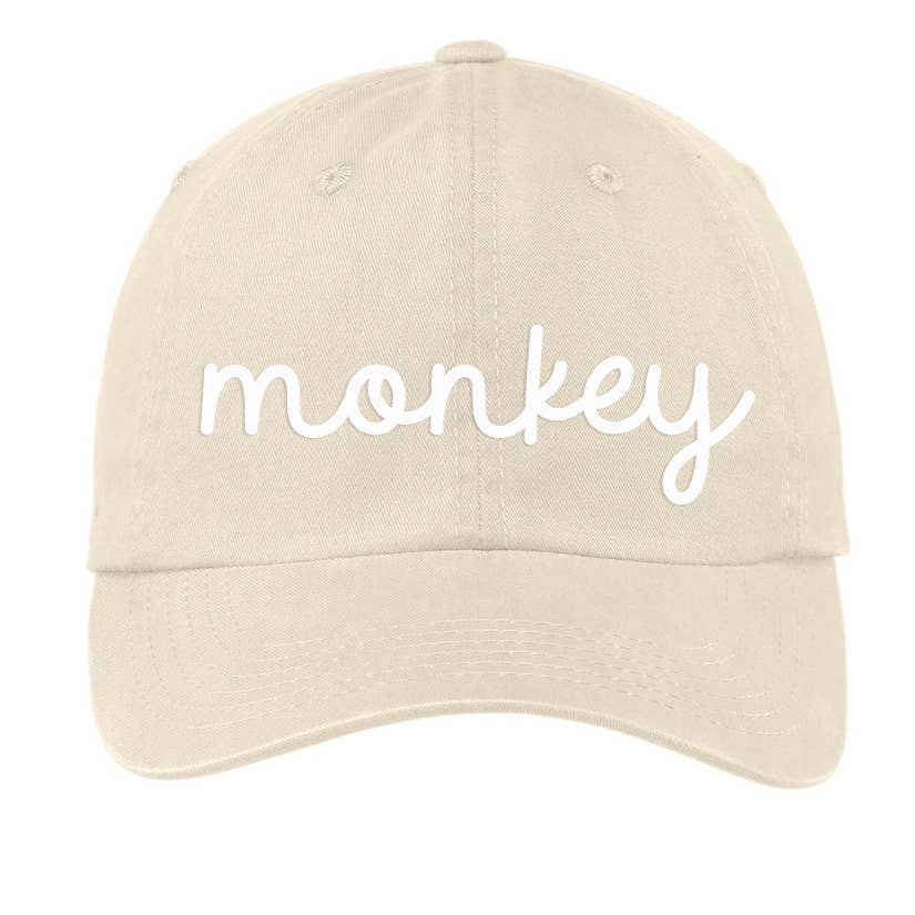 The Monkey Baseball Hat