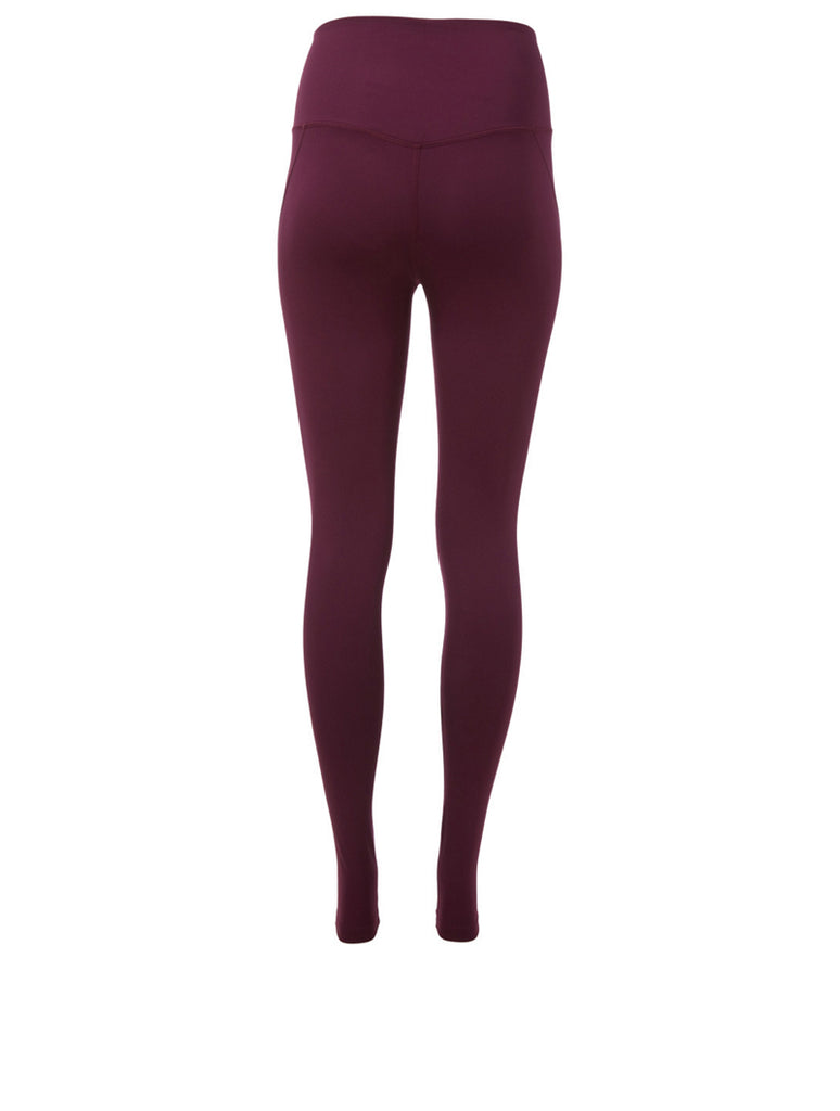 The LITE High Rise Leggings - Plum - Plus