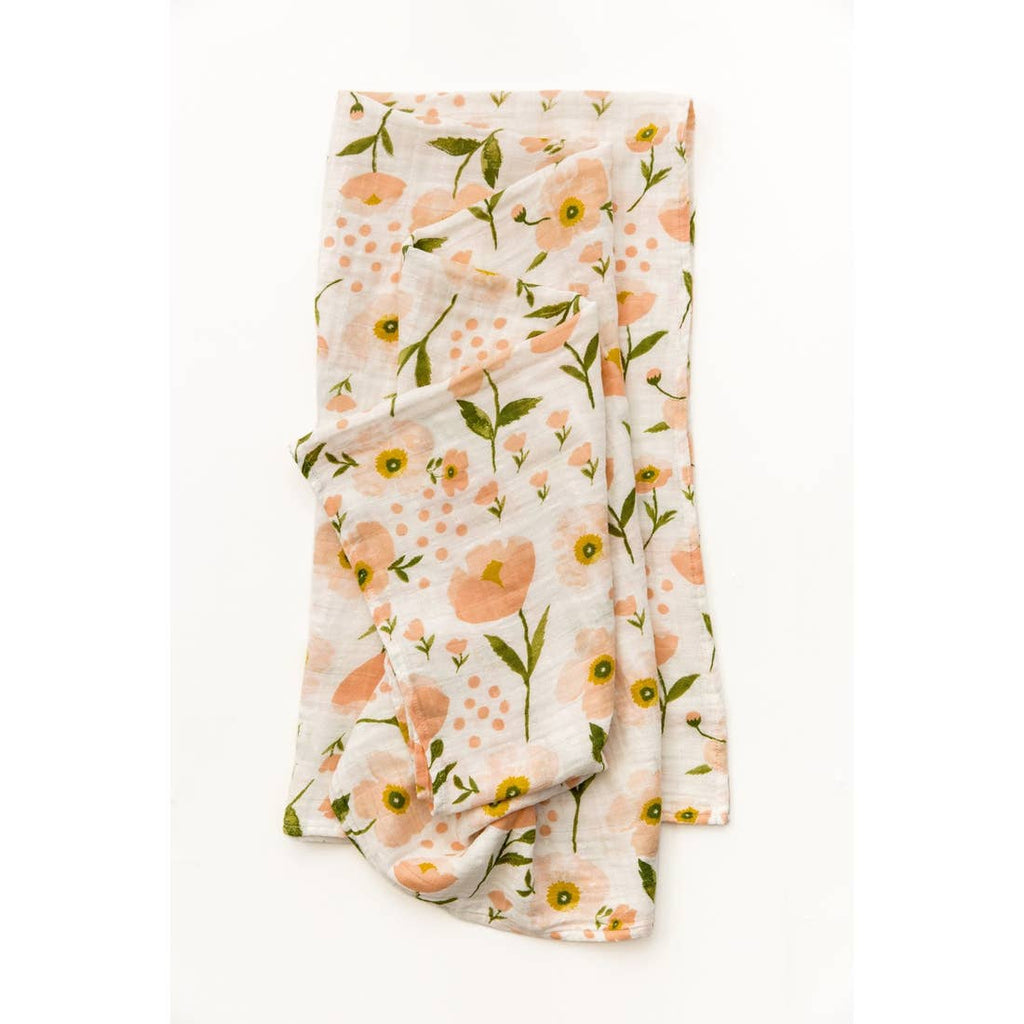 The Blush Bloom Swaddle