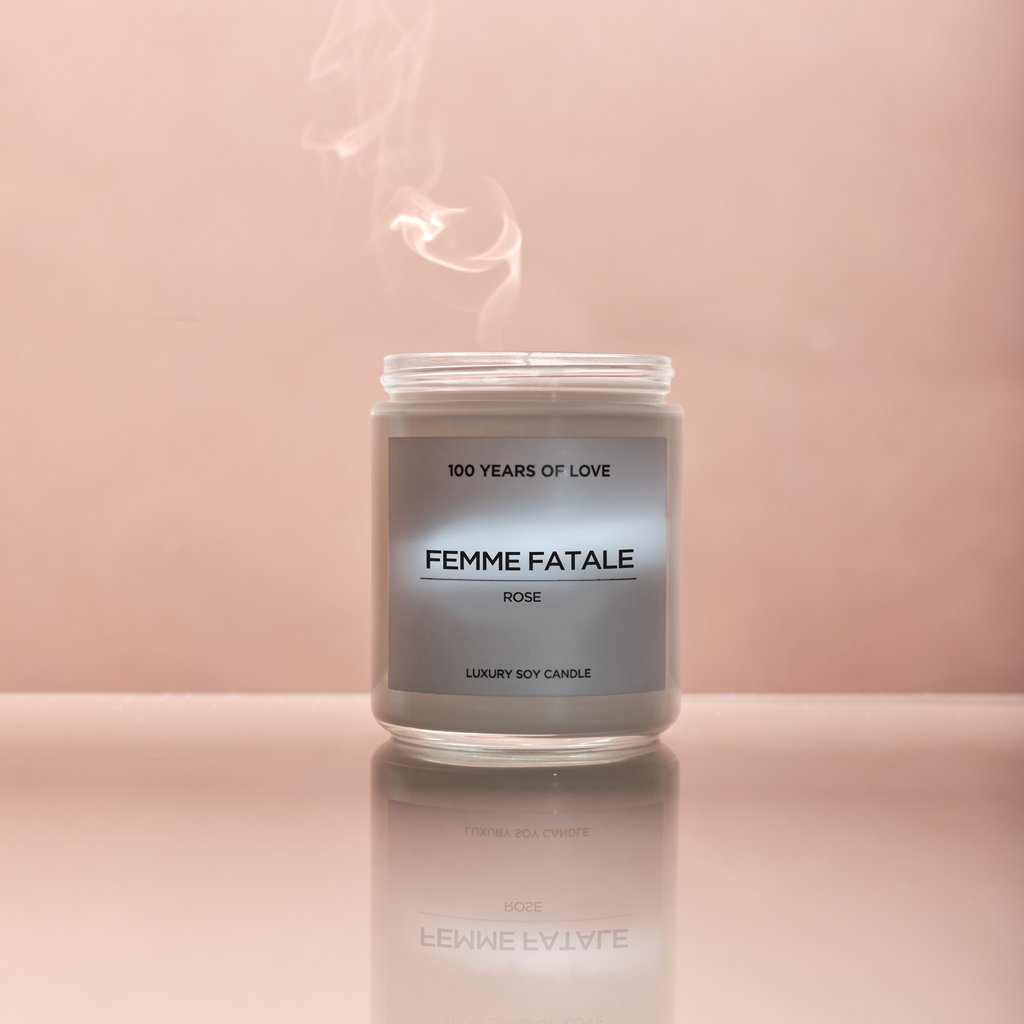 The 100 Yrs of Love Candle - FEMME FATALE