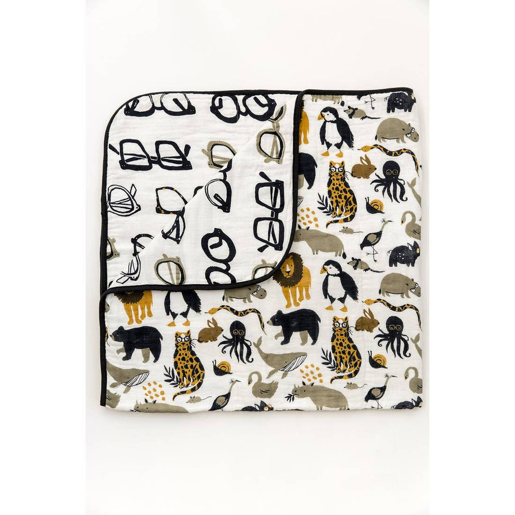 The 4 Layer Quilt - Zoology Reversible