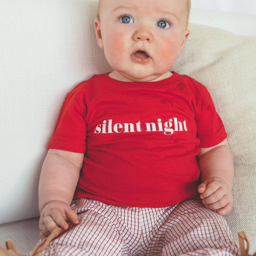 The Silent Night T-Shirt - Baby