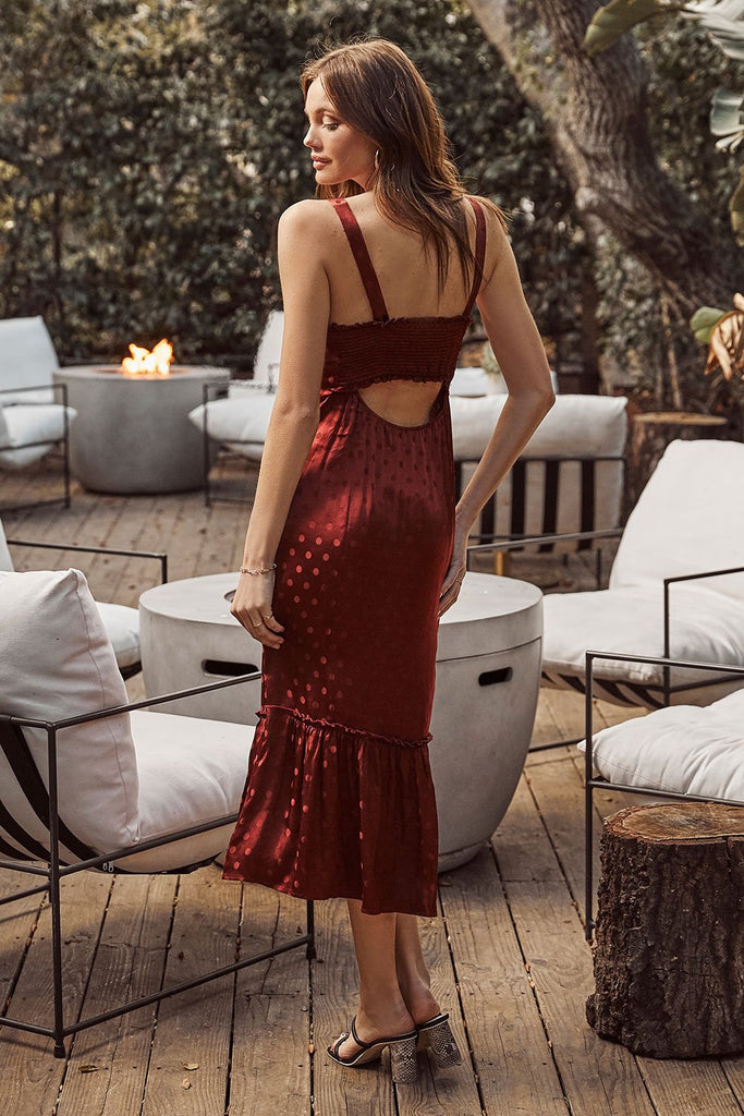 The Agate Midi Dress by Saltwater Luxe