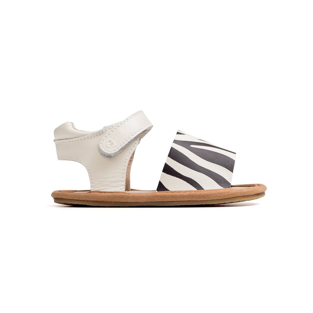 The Blake Zebra Sandal