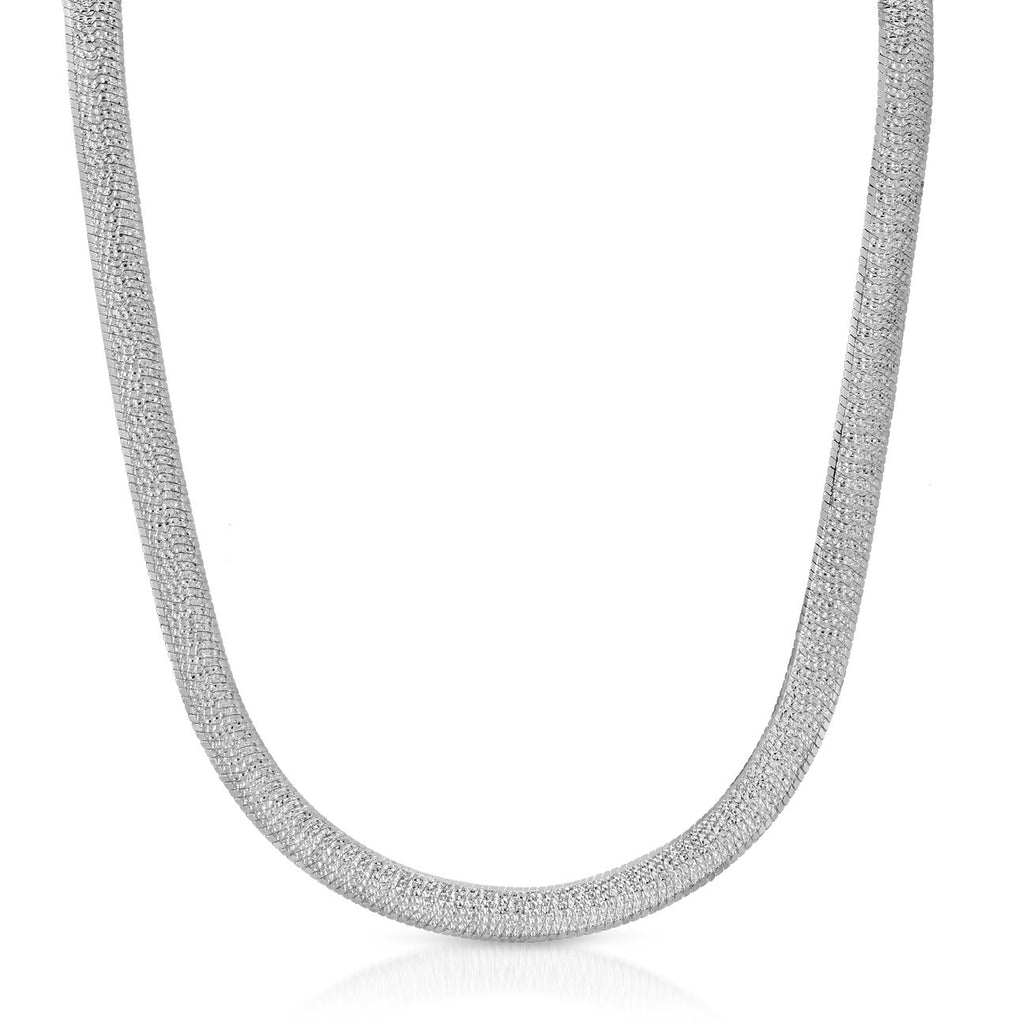 "The Out Of Luck Necklace - 16"" Silver"