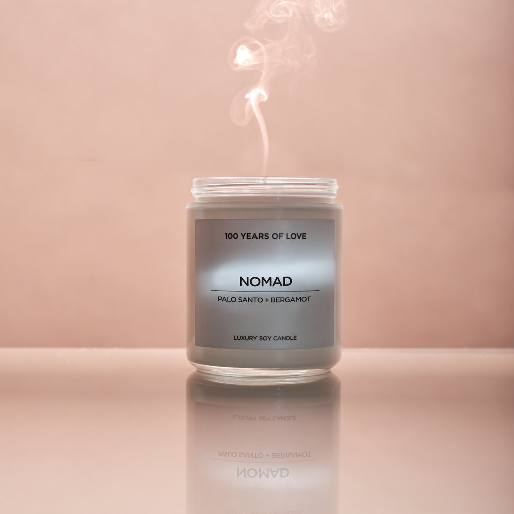 The 100 Yrs of Love Candle - NOMAD