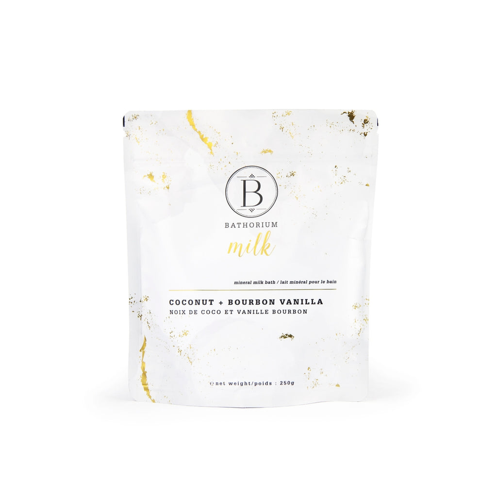 The Coconut + Bourbon MILK Bath Soak