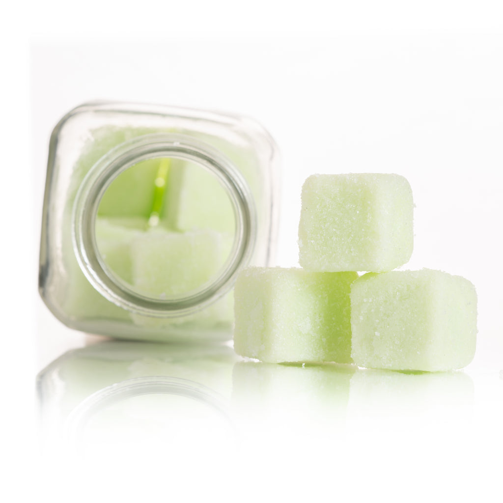 The Exfoliating Sugar Cubes - Mint Mojito