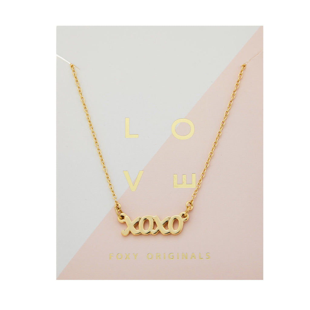The XO Necklace - Various colours
